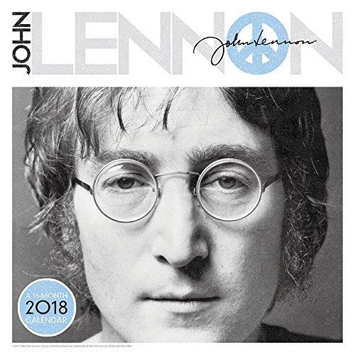 John Lennon 2018 Wall Calendar