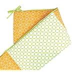 Trend-Lab-SavannahLevi-Crib-Bumpers-GreenOrange