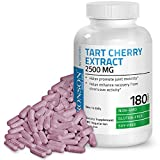 Cheap Bronson Tart Cherry Extract 2500 mg Premium Non-GMO Gluten Free Soy Free Formula Packed with Antioxidants and Flavonoids, 180 Vegetarian Capsules