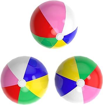 Amazon.com: acevery inflable pelotas de playa, 24