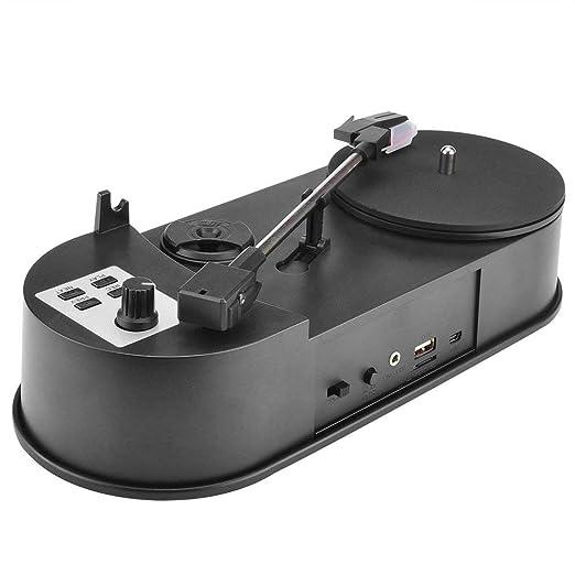 FDBF Mini Tocadiscos de Vinilo USB Reproductor de Audio ...