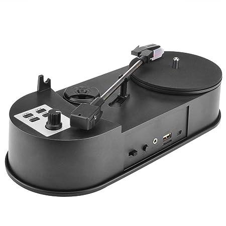DERNON Mini Tocadiscos de Vinilo USB Reproductor de Audio ...