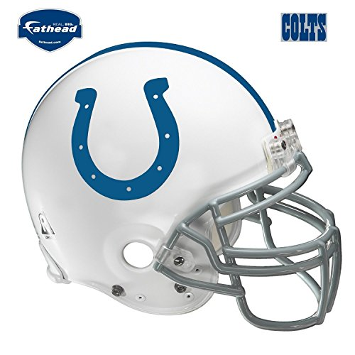 Fathead Indianapolis Colts Helmet Wall Decal