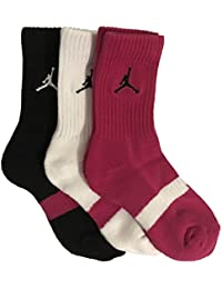 Jordan Kids 3-Pack Crew Socks 3Y-5YShoe Size/7-9 Sock
