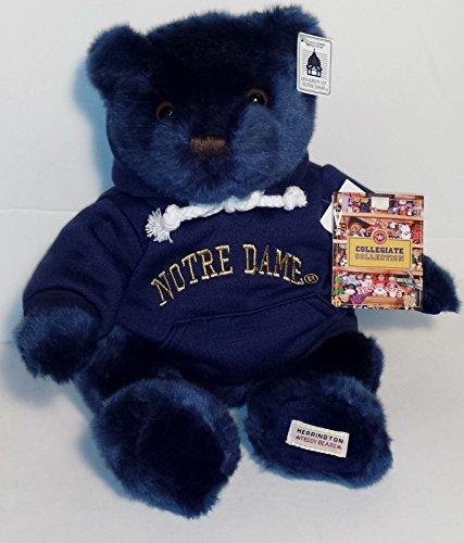 Herrington Notre Dame Fighting Irish Teddy Bear with Hoodie Sweatshirt ()
