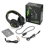 EasySMX SA-807 Stereo Portable Gaming Headset for PS4/ PC/ Laptop/ Tablet/ Smartphone Noise Cancellation Adjustable Microphone In-line Volume Control One-key Mute
