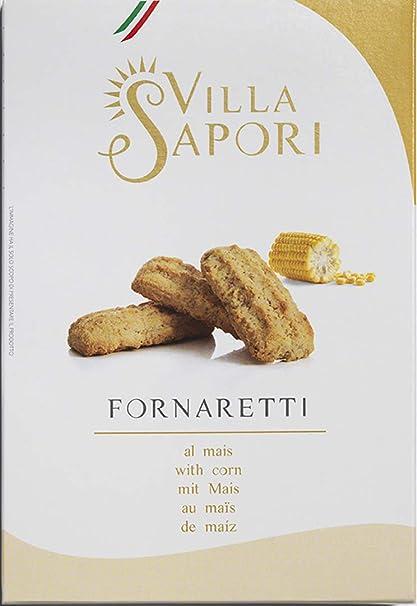 Villa Sapori - Fornaretti de Maíz, caja de 900 g (pack de 6 x