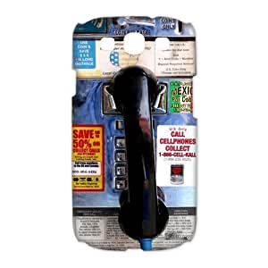 Custom Your Own Personalised Pay Phone SamSung Galaxy S3 I9300 Best Durable Case Cover by icecream design