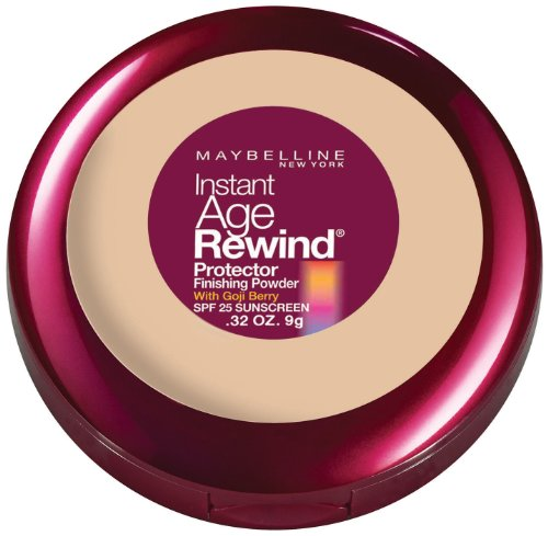 Maybelline New York Instant Age Rewind Protector Finishing Powder, Nude, 0.32 Ounce
