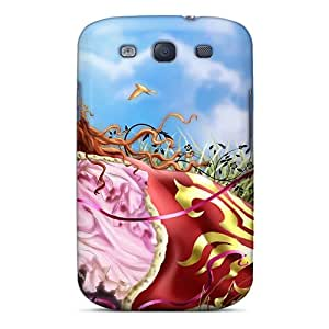 Galaxy Cover Case - Love Heart Valentine Day 56 Protective Case Compatibel With Galaxy S3