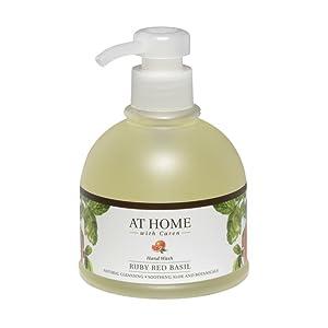 Caren Original At Home Ruby Red Basil Hand Wash, Magenta, 12 Ounce