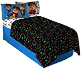 Bagdasarian Productions Alvin and The Chipmunks School of Rock Twin Sheet Set