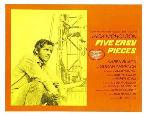 Five Easy Pieces POSTER Movie (30 x 40 Inches - 77cm x 102cm) (1970)