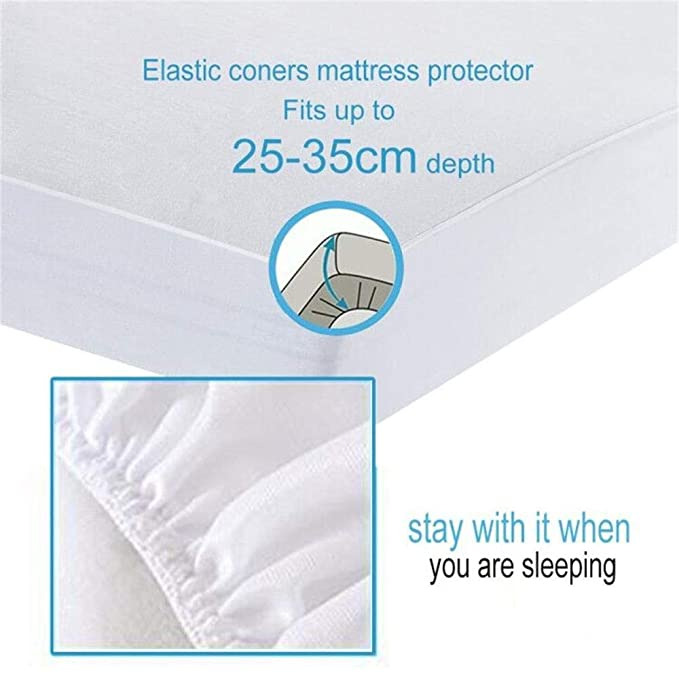 Bedecor Tencel Protector de Colchón,Impermeable y Transpirable ...