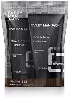 product image for Every Man Jack Fragrance Free Shave Set Sampler (2 OZ/Bottle)