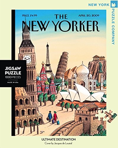 New York Puzzle Company - New Yorker Ultimate Destination - 1000 Piece Jigsaw Puzzle ()