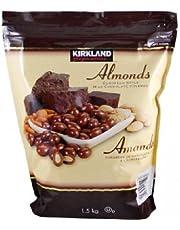 Kirkland Signature Milk Chocolate Almonds, 1.5 Kilogram
