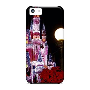 Awesome ENy4323TFTf Ourcase88 Defender Hard Cases Covers For Iphone 5c- Disney Castle