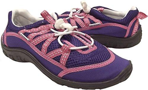 Northside Brille II J Water Shoe (Little Kid/Big Kid),Purple/Fuchsia,1 M US Little Kid