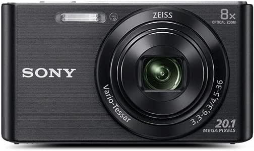 Sony New - DSCW830B - W830 Digital Compact Camera with 8X Optical Zoom (Black)