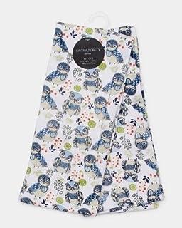Merveilleux Cynthia Rowley 2 Pack Cotton Kitchen Towels, Blue Owl