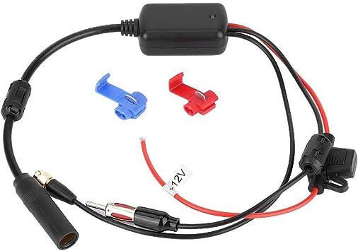 Amplificador de antena de coche, receptor de señal de radio ...
