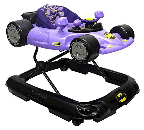 WB KidsEmbrace Baby Batgirl Activity Walker, Car with Music and Lights by Kids Embrace