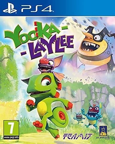 Yooka-Laylee: playstation 4: Amazon.es: Videojuegos