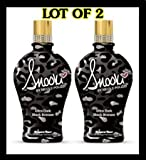 LOT of 2 Supre Snooki Ultra Dark Black Bronzer Tanning Lotion 12 Oz by Supre