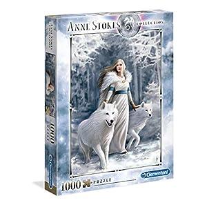 Clementoni Anne Stokes Puzzle 1000 Pezzi Multicolore 39477