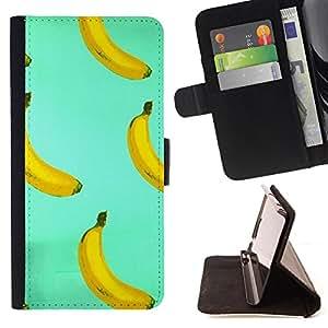 Dragon Case - FOR HTC One M7 - Art of banana - Caja de la carpeta del caso en folio de cuero del tir¨®n de la cubierta protectora Shell