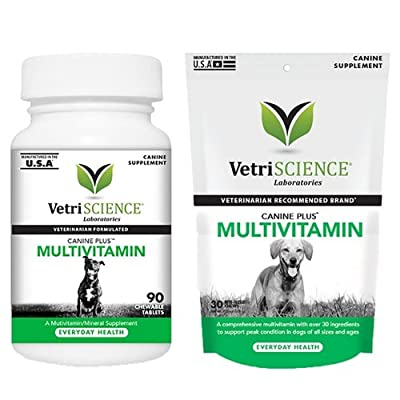Vetri-Science Canine Plus Multi-Vitamin Dog Supplement