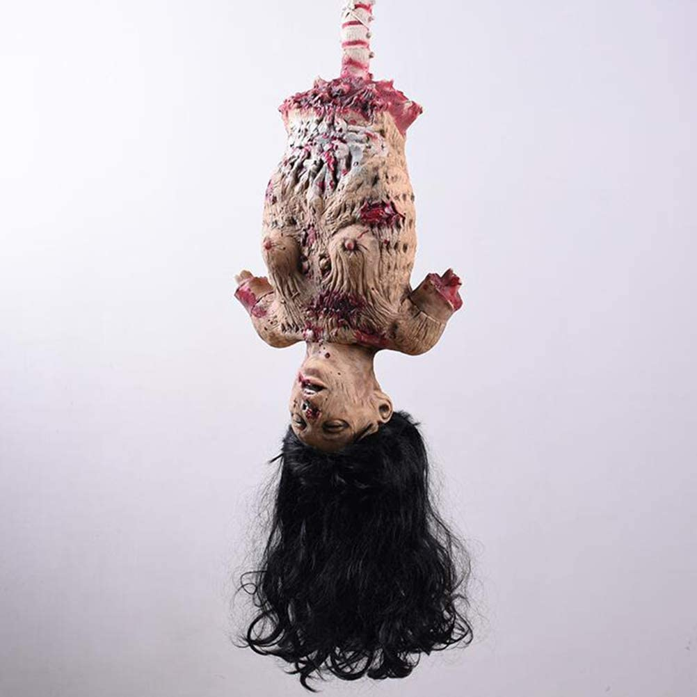 Amosfun Halloween Hanging Ghost Hanging Body Ornament for Halloween Decoration Party Supplies