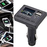 Susun Car Music MP3 Player FM Transmitter Modulator Dual USB Charging SD MMC Remote
