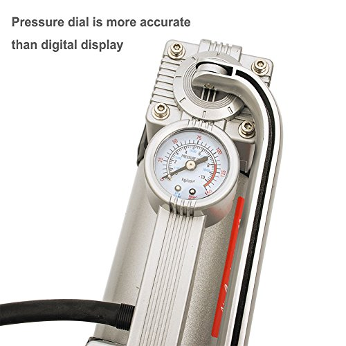 GSPSCN Inflator Duty Portable Metal Air Compressor with to PSI Car, SUV Dinghy, Bed