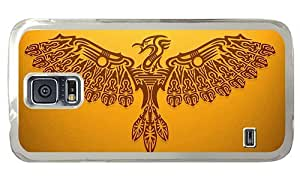 Hipster Samsung Galaxy S5 Cases fashion phoenix art PC Transparent for Samsung S5