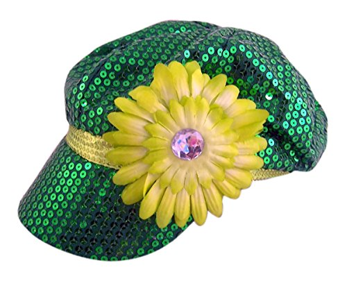 Saint Patrick's Day Sequin Hat With (Sequin Newsboy Hat)