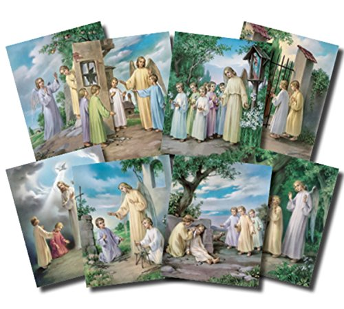 - The Ten Commandments Illustrated Cardstock Poster Set, 10 Pieces, 10 Inch