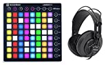 Novation LAUNCHPAD S MK2 MKII MIDI USB RGB Controller Pad + Headphones