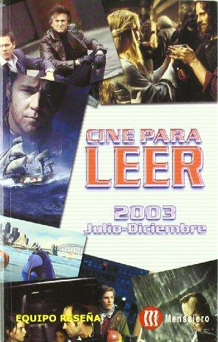 Descargar Libro Cine Para Leer 2003 Julio-diciembre Equipo Reseña