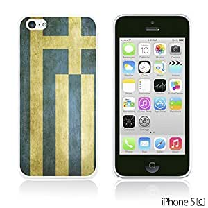 Flag Pattern Hard Back For SamSung Galaxy S4 Mini Case Cover - Greece