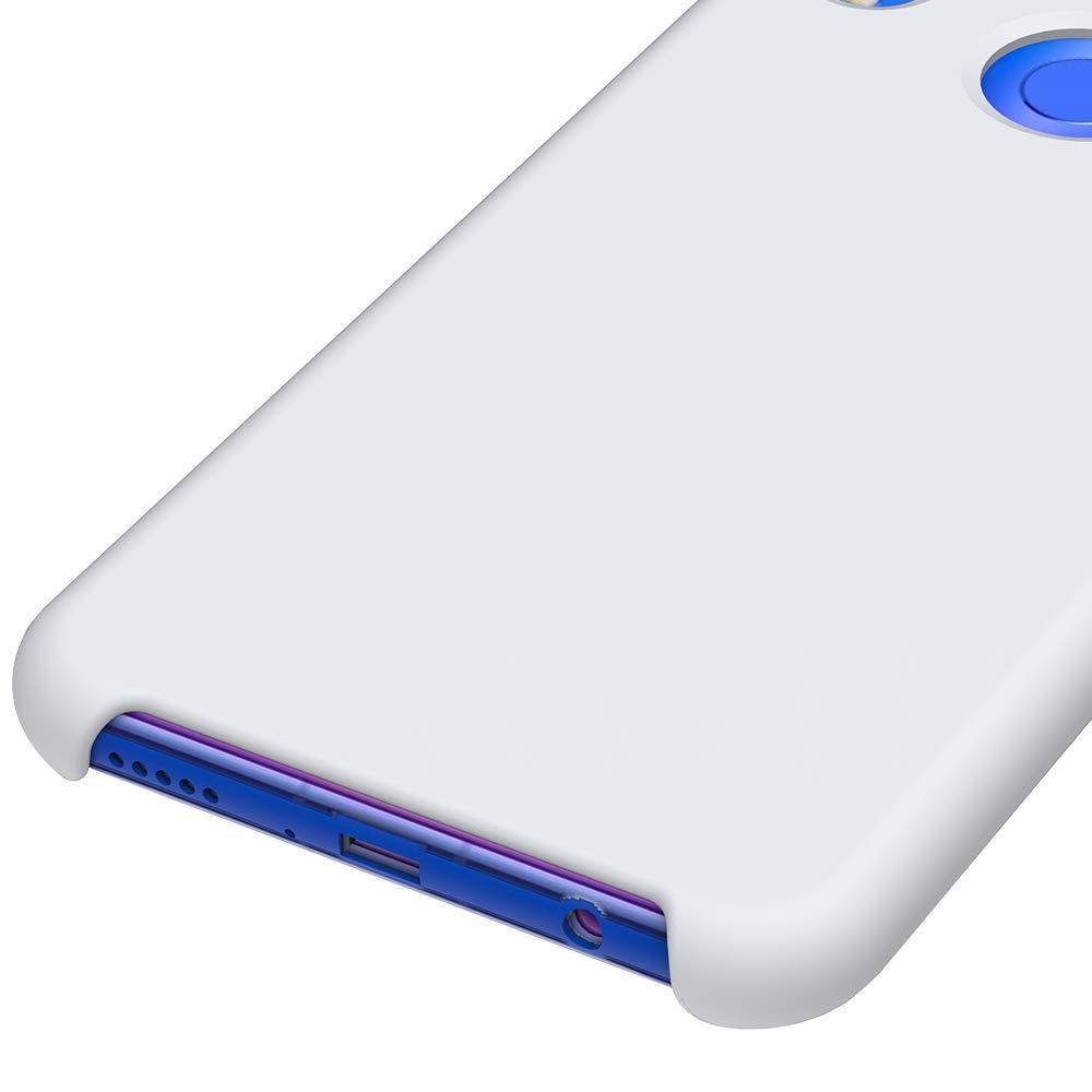 CoverTpu Funda Huawei P Smart Plus Silicona Carcasa para Huawei P Smart Plus Anti-Rasgu/ño y Resistente Protectora Tapa Caso Case Rojo Rojo Funda L/íquido de Silicona Gel TPU Flexible