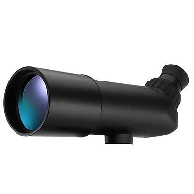 CHENGXIAOXUAN Télescope Télescopes Visualisation Spottingscope Puissance élevée 20 * 60 Une Grande Lentille,Black