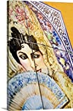 Colin Dutton Premium Thick-Wrap Canvas Wall Art Print entitled Spain, Sevilla, Ceramic tiles
