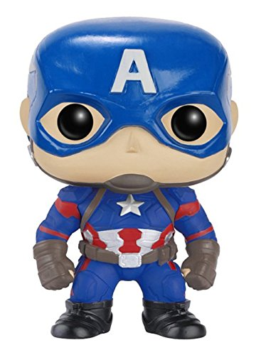 Captain+America Products : Funko POP Marvel: Captain America 3: Civil War Action Figure - Captain America