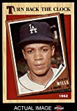 1987 Topps # 315 Turn Back The Clock Maury Wills Los Angeles Dodgers (Baseball Card) Dean's Cards 8 - NM/MT Dodgers