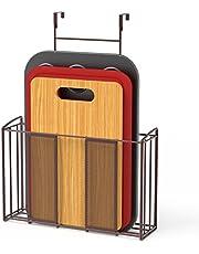 SimpleHouseware Over The Door Hanging Kitchen Organizer Storage Holder