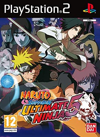Atari Ultimate Ninja 5: Naruto Shippuden, PS2 - Juego (PS2 ...