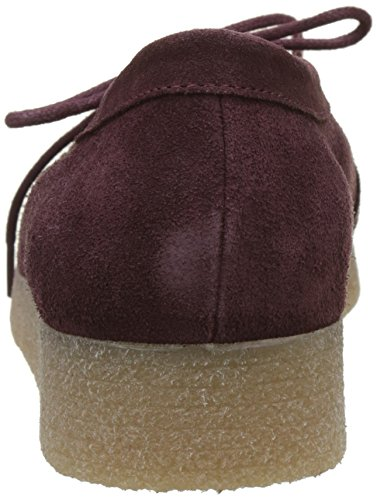 Bensimon Derbys Casual, Scarpe Stringate Derby Donna Rosso (Bordeaux)