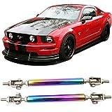 94 honda civic lip - Strut Rods Fits Any Car | Neochrome Adjustable 5.5-8 Inch Bumper Lip Diffuser Splitter Rods by IKON MOTORSPORTS